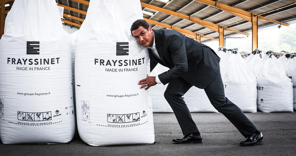 Engrais Frayssinet et Thierry Dusautoir